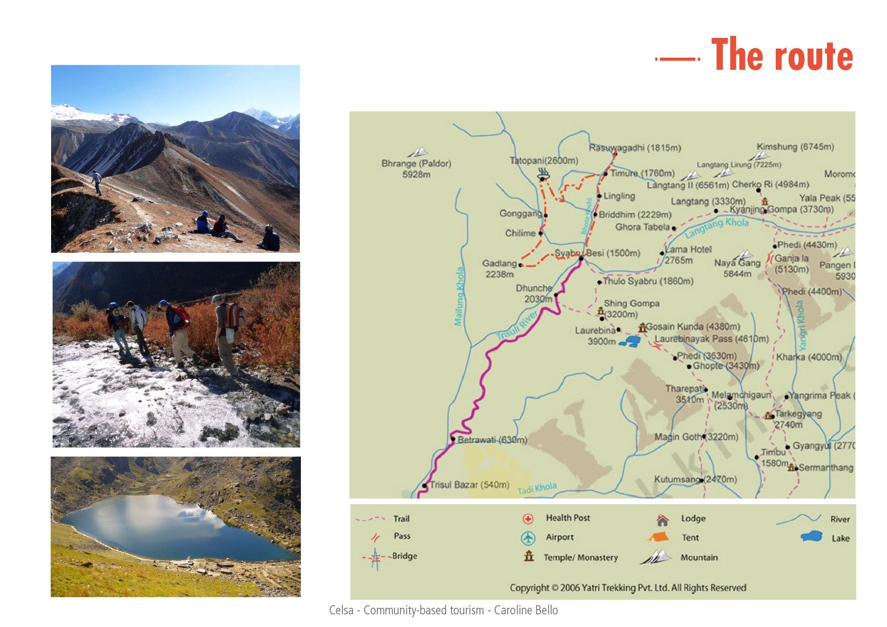The Tamang Heritage Trail Of Rasuwa India TELLING KAZBEGI - Georgia kazbegi map